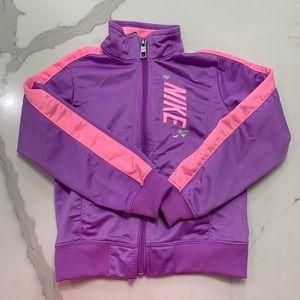 Nike purple and pink track jacket